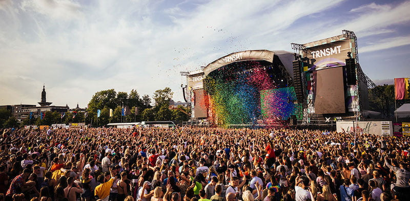 Trnsmt in Glasgow is organised by DF concerts