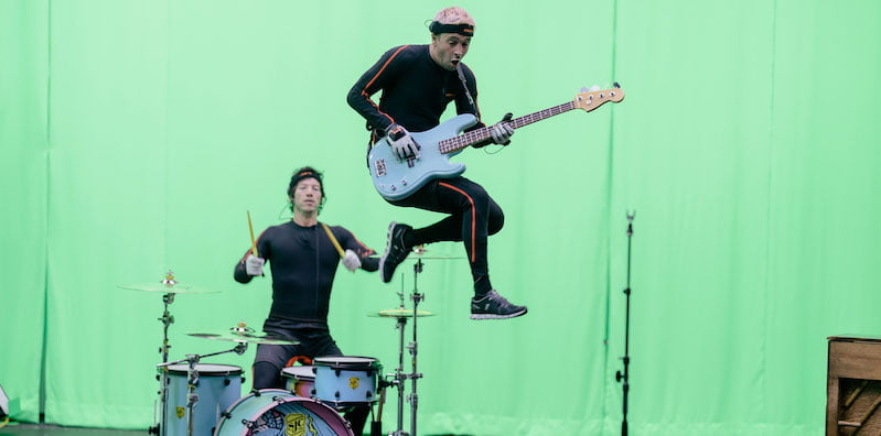 Twenty One Pilots behind the scenes of their Roblox concert experience