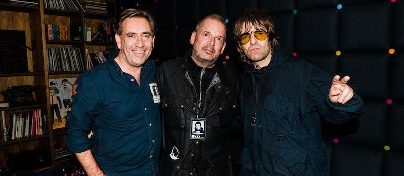 John Drury, Chris York, Liam Gallagher