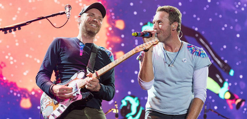 Coldplay's Music of the Spheres tour will kick off in March 2022