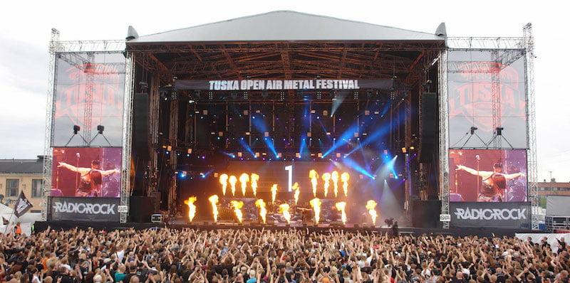 Tuska festival, Finland