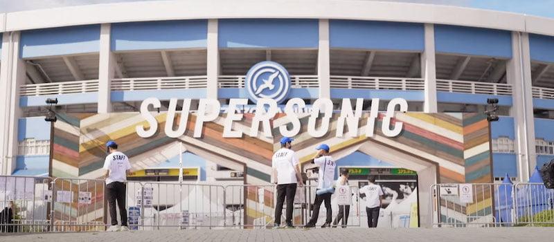 Supersonic took place at Zozomarine Stadium, Tokyo