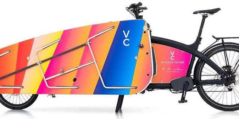 VeloConcerts' mobile stage
